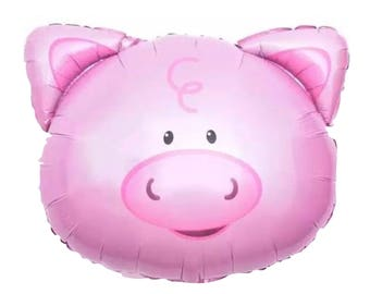 pig balloons etsy