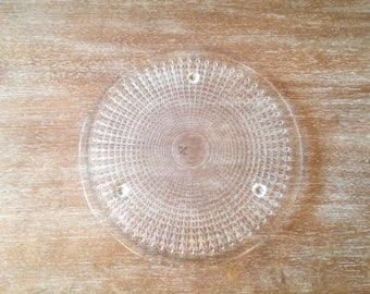 Mikasa Walther Crystal Symphony Cake Plate