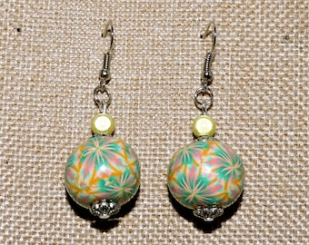 Earrings in polymer clay (fimo)