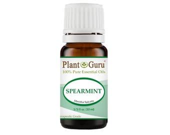 Spearmint Essential Oil  100% Pure, Undiluted, Therapeutic Grade.