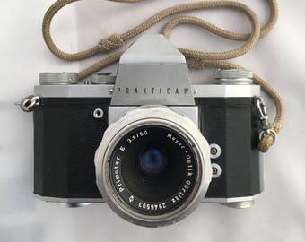 Praktica IV Camera, Vintage Camera, Film Camera, 35mm Camera, German Camera, 1960's Camera, Collectable Camera, SLR Camera, Pentacon Camera