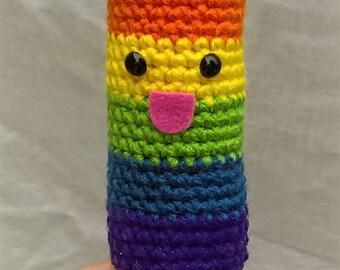 Gay Pride/LGBT Pride Crochet Popsicle
