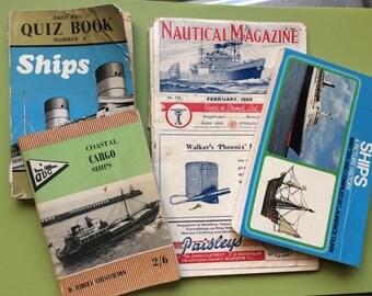 Vintage books , vintage ship books , ship books , old ship books , old books , boat books , vintage boat books , nautical magazine