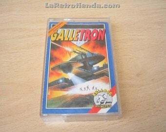computer game AMSTRAD CPC 464, 664 6128 Galletron vintage