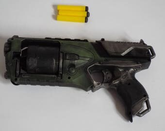 Custom painted Nerf gun