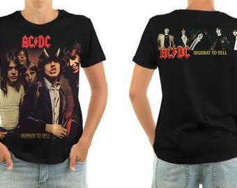AC/DC highway to hell shirt all sizes