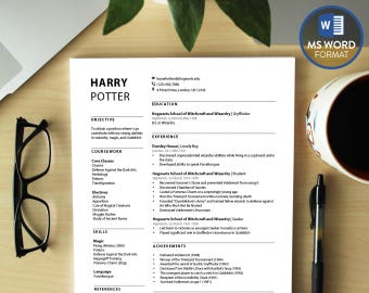 Policy Analyst Resume Excel Word Resume Template  Etsy Resume Drafts Excel with Msw Resume Professional Resume Templates Word Modern Cv Template  Download Resume  Microsoft Word Resume Post Your Resume Pdf