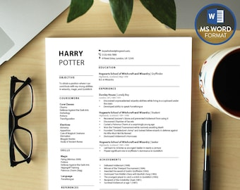 Resum Pdf Word Resume Template  Etsy Sample Of A Resume with Naming Your Resume Word Professional Resume Templates Word Modern Cv Template  Download Resume  Microsoft Word Resume Resume For Photographer Word