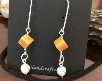 Honey quartz dangles