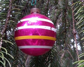 vintage ornament, mercury glass, christmas ornament, glass ornament,vintage christmas, christmas,  antique ornament