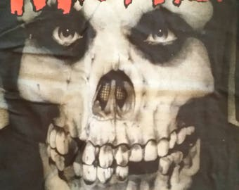 Misfits emo goth punk rock metal XL black T shirt