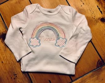 Rainbow Baby Onesie Bodysuit