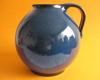 Vintage West German Studio Pottery Vase J.L.Knödgen J.L.K.