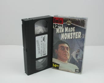 Man Made Monster [VHS] (1941)