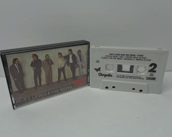 Huey Lewis and the News Fore Cassette