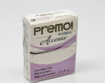 Premo Accent Polymer Clay 2 oz/ 57g Pearl 5161