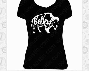 American Gods Inspired Buffalo Believe T-Shirt