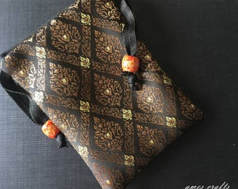 Handmade Thai Silk Tarot Pouch Bag Dice Pouch Jewelry Bag Glasses bag With Drawstring