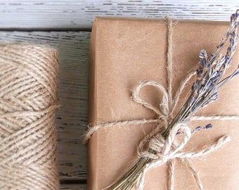Gift Box - Organic Gift Wrapping // Make it a gift set!