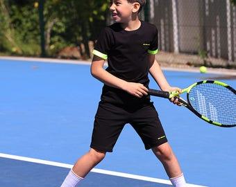 Lucas Boys Tennis Apparel | Boys Tennis Clothes | Junior Tennis Wear Outfit | Boys Tennis Tops