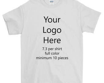M t company etsy for Custom logo t shirts no minimum