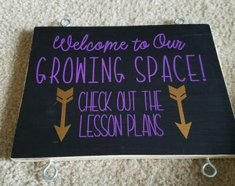 Welcome to our classroom/visitor/observer lesson plans