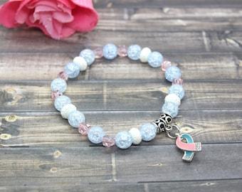 Infertility Awareness - Infertility Awareness Bracelet - Infertility Bracelet - Infertility Jewelry - Infertility - Infertility Gifts