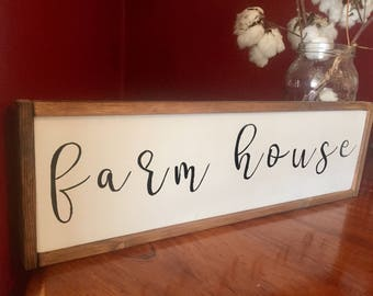 Farm house sign, walll decor, rustic decor, wall hanging