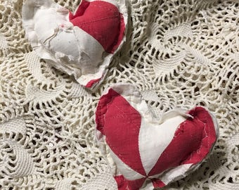 Red and White Posing Heart/ Newborn Posing Pillow/ Valentine Photo Prop