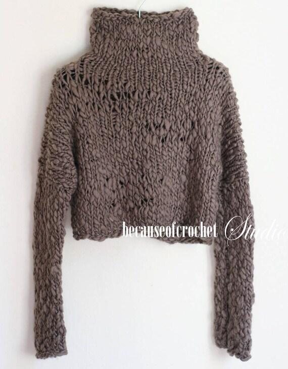 Knitting A Sweater On Straight Needles : Sale knitting pattern woman sweater size s m made