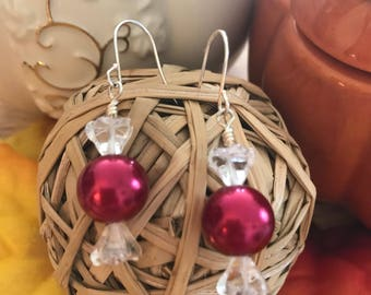 Hard Candy Earrings - Red