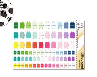Suitcase Sticker - Planner Sticker