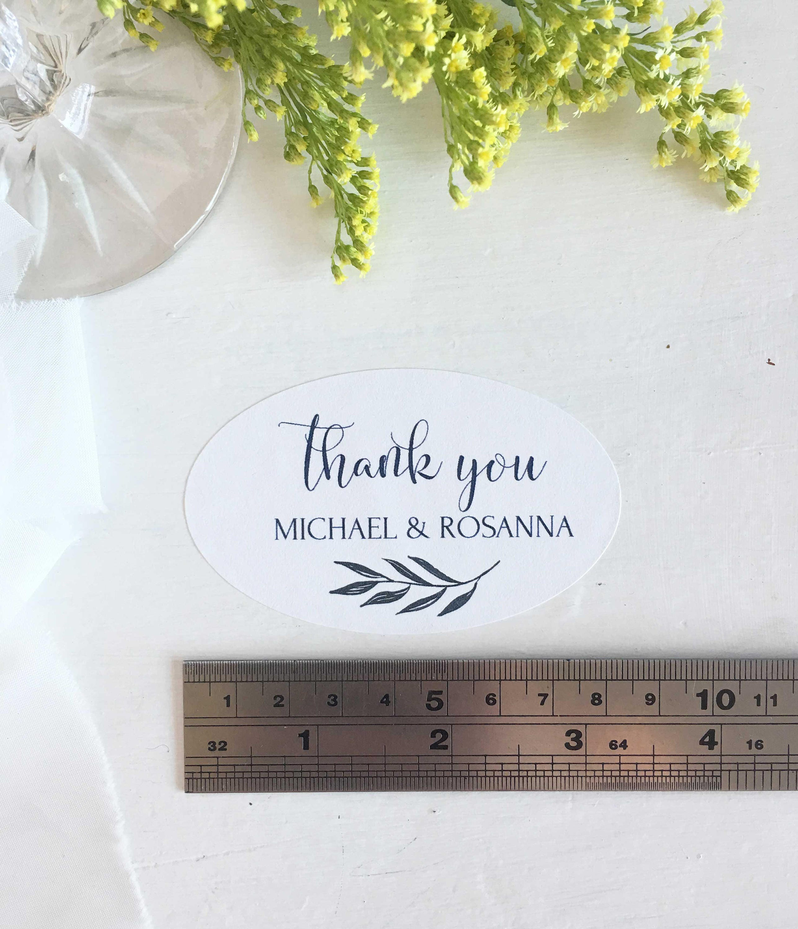 Thank You Stickers Shower, Thank You Label Wedding, Stickers Tags ...