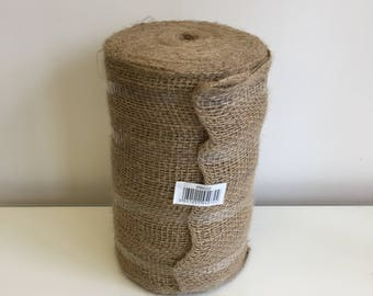 Hessian large roll, table runners DIY wedding