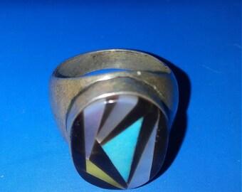 Vintage Sterling Man's Ring