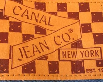 Canal Jean Company NYC 70s or 80s High-Waisted Flare Jeans