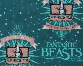 Fantastic Beasts Harry Potter Fabric