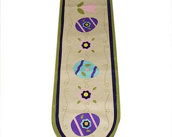 "68"" Easter Eggs Decorative Table Runner"