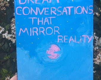 Dream Conversations that Mirror Reality Zine