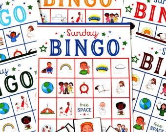 Sunday Bingo Printable Game