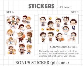 SPN Sticker Sets