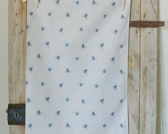 Blue Bee tea towel