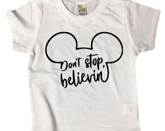 BELIEVE MICKEY shirt