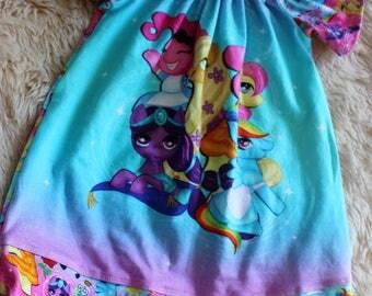 My Little Pony Flutter Sleeve Dress Size 0