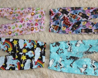 Custom Made Leggings Size 000-6
