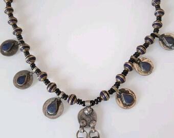 Afghan lapis lazuli 2 8859 necklace