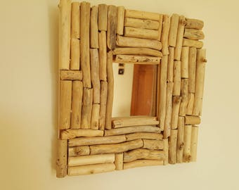 DRIFTWOOD WOOD MIRROR