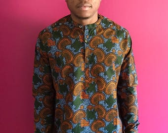 Ankara shirt by Christian Alaro
