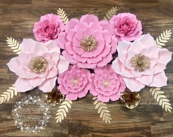 Paper Flower Set of 9