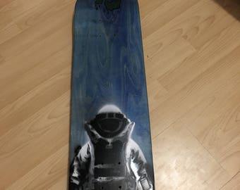 Custom made skateboard